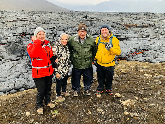 Happy guests during the Private Fagradalsfjall Volcano Tour with 2Go Iceland Travel_0.5x.j