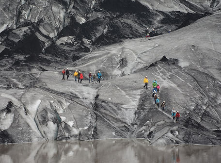 A group of persons during an Ice walk in Solheimajökul glacier in Iceland.jpg