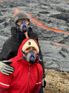 Guest from 2Go Iceland wearing gas mask during Fagradalsfjall volcano tour_3x.jpg