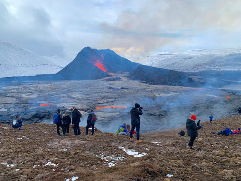 2Go Iceland | Volcano Tour | Fagradalsfjall Volcanic Eruption in Icel