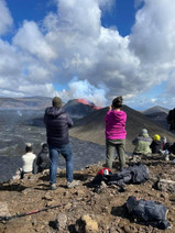 People taking pictures from Fagradalsfjall Volcano in Iceland_3x.jpg