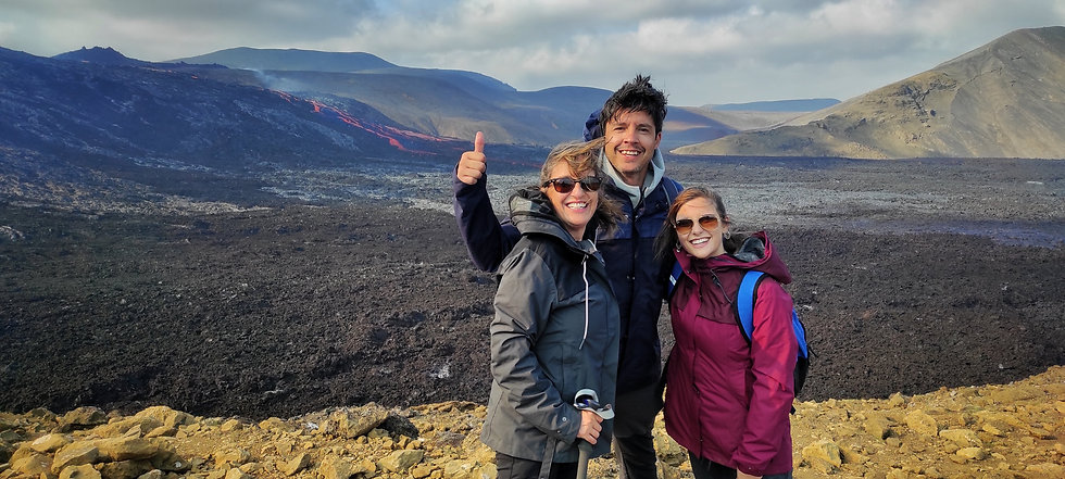 Family of hikers at fagradalsfjall Volcano in Iceland.jpg