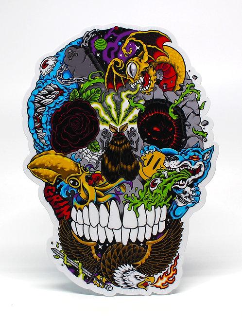 CnG Skull - Sticker