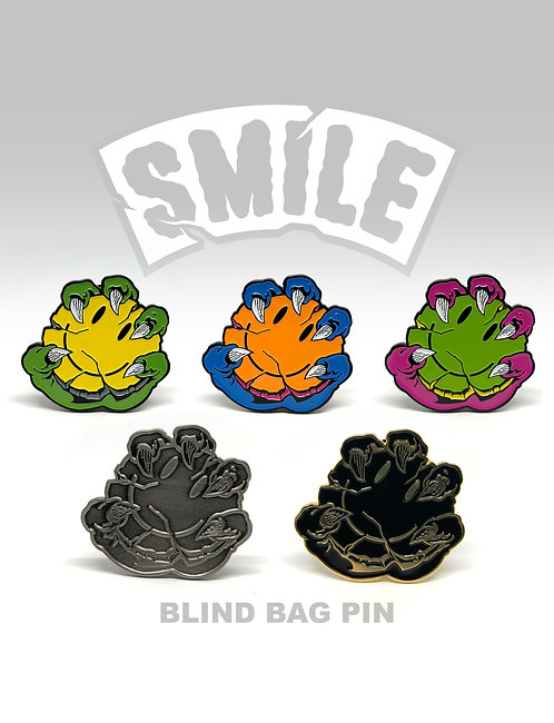 SMILE - Blind Bag Pin