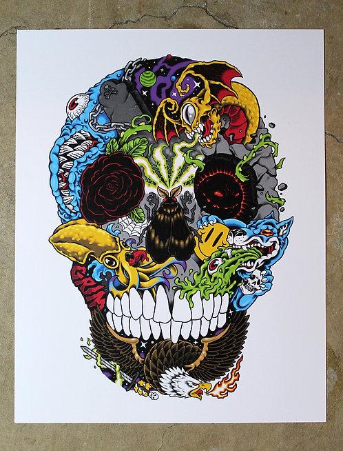 CnG Skull - Poster