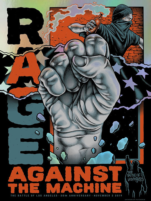 Rage Against the Machine - BOLA 20th Foil Variant