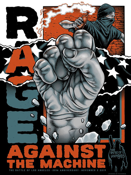Rage Against the Machine - BOLA 20th Regular