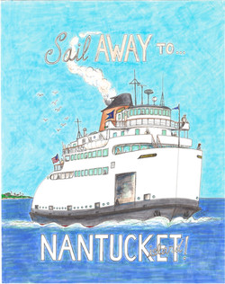 Sail Away...To Nantucket Island!