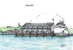 Steamer Naushon at Steamboat Wharf,