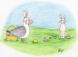 Day 20, April 12: Chuck vs. The Easter Bunny