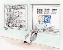 Day 5: Chuck visits the Post Office during the COVID-19 outbreak