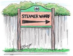 Steamer Wharf Sign