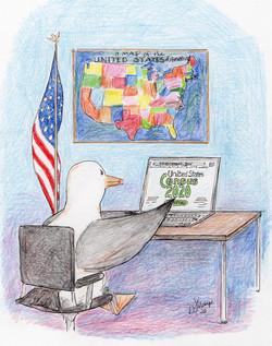 Day 35: Chuck fills out the US Census