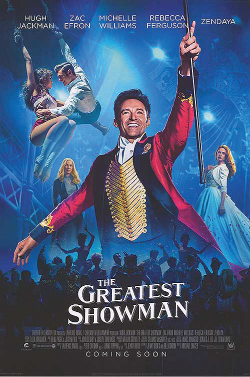 """""""The Greatest Showman"""" Poster Courtesy of IMDb"""