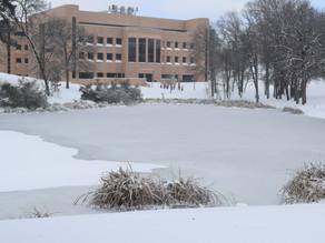 WATCH: Snow at UT Tyler