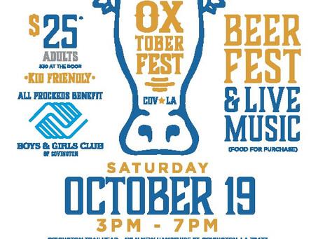 Boys & Girls Clubs of Southeast Louisiana to host 3rd Annual Oxtoberfest Fundraiser for Covingto