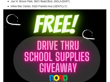 In need of school supplies?!