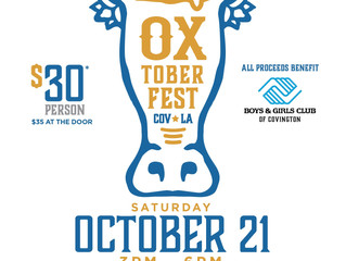 Oxtoberfest to benefit Covington Club