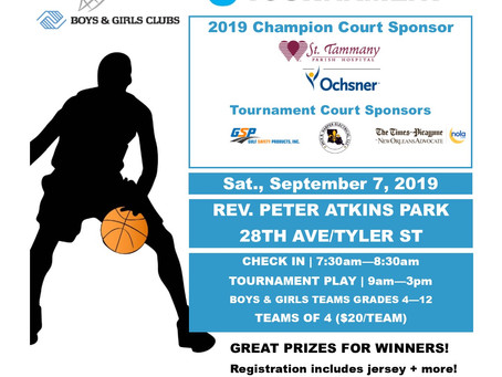 Hoops for Kids 3 on 3 Basketball Tournament Registration is OPEN!