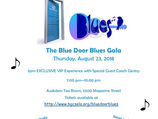 You are Invited to the Blue Door Blues Gala