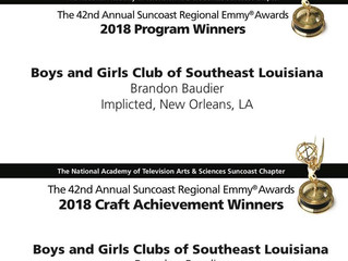 Boys & Girls Clubs of Southeast Louisiana Video Wins Two Emmys!!