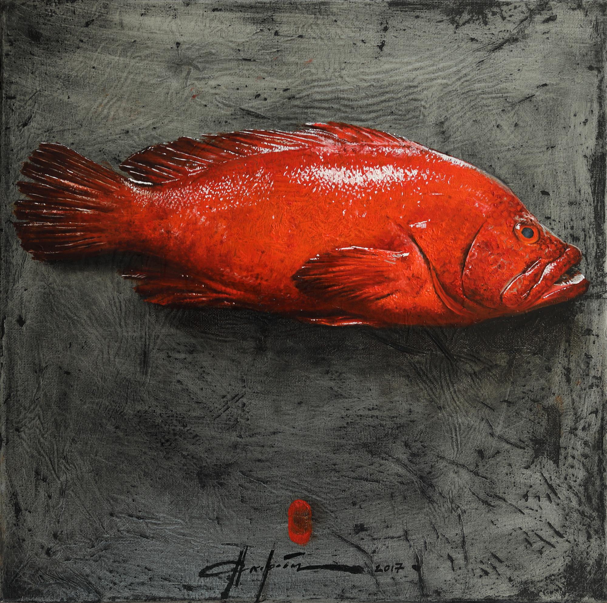 Красный групер