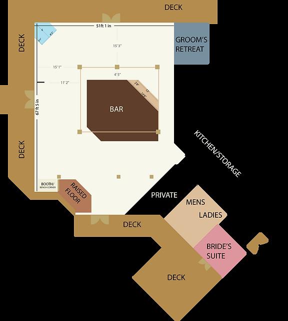 WaterVue floor plan to scale