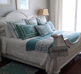 Our Honeymoon Suite, a luxurious beachfront 3-bedroom, 3-bathroom condominium.