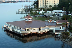 WaterVue can accommodate up to 300 guests (inside and outside) for your special day.