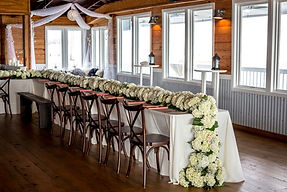 WaterVue's ballroom has a completely open floor plan with panoramic waterfront views of theSanta Rosa Sound.