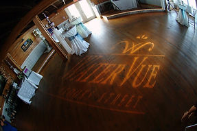The band, DJ or other entertainment hired will need to provide lighting for the dance floor.