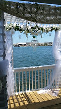 The happy couple can make their grand entrance to the event on our fabulousWedding Boat.