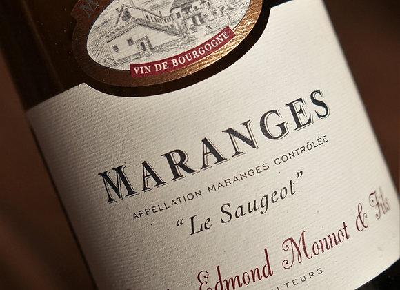 """AOP Maranges Rge """"Le saugeot"""" - Domaine Edmond Monnot"""