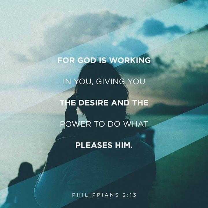 Faith through reading the Bible will strengthen you towards your purpose.