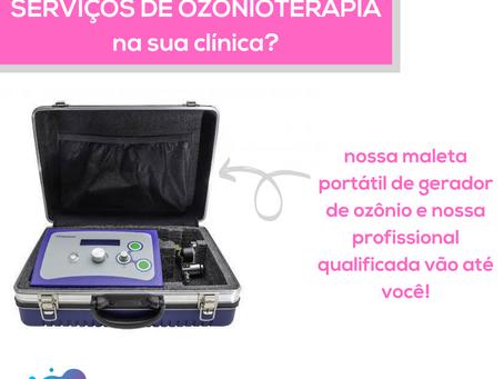 Já pensou em ter ozonioterapia na sua clínica?