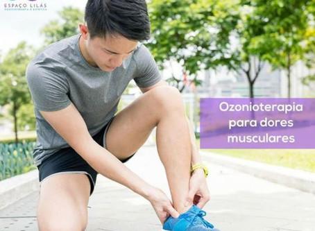 Ozonioterapia auxilia no combate às dores musculares