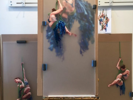 Hanging Sculptural Paintings