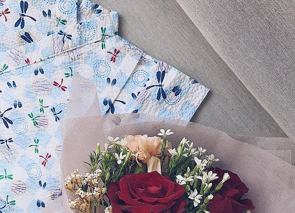 Riku Baby Romper + Bouquet