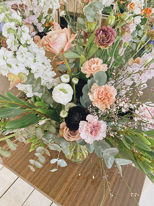 (Mandarin) Moms' Day Jar Flowers Workshop 16 May Sunday