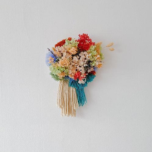 Hope (Yarn + Flowers Canvas)