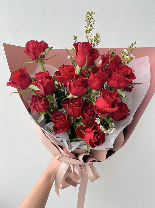 20 Roses Bouquet (Vday)