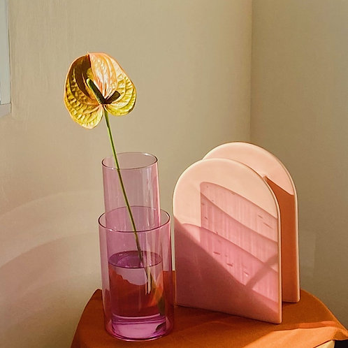 Wisteria Lilac Vase (Set of 2)