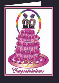 Brides Wedding Cake
