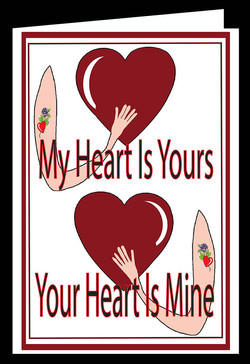 My Heart is yours.