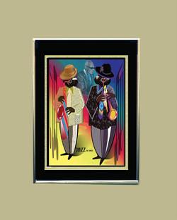Jazz-Ray Charles (Framed)