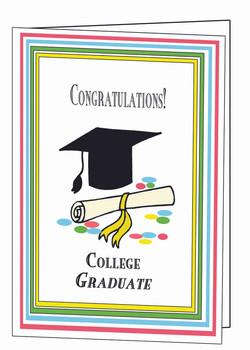 College Graduate Card