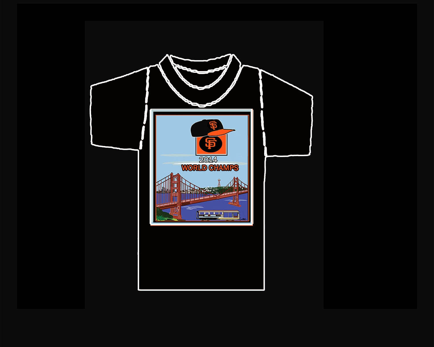 SF Giants World Champs T-Shirt
