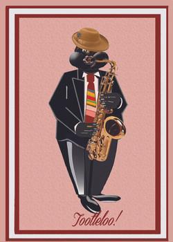 Razzy Saoxphone Player-Tootleloo
