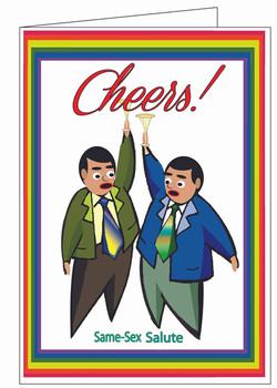 Cheers-Salute Card.