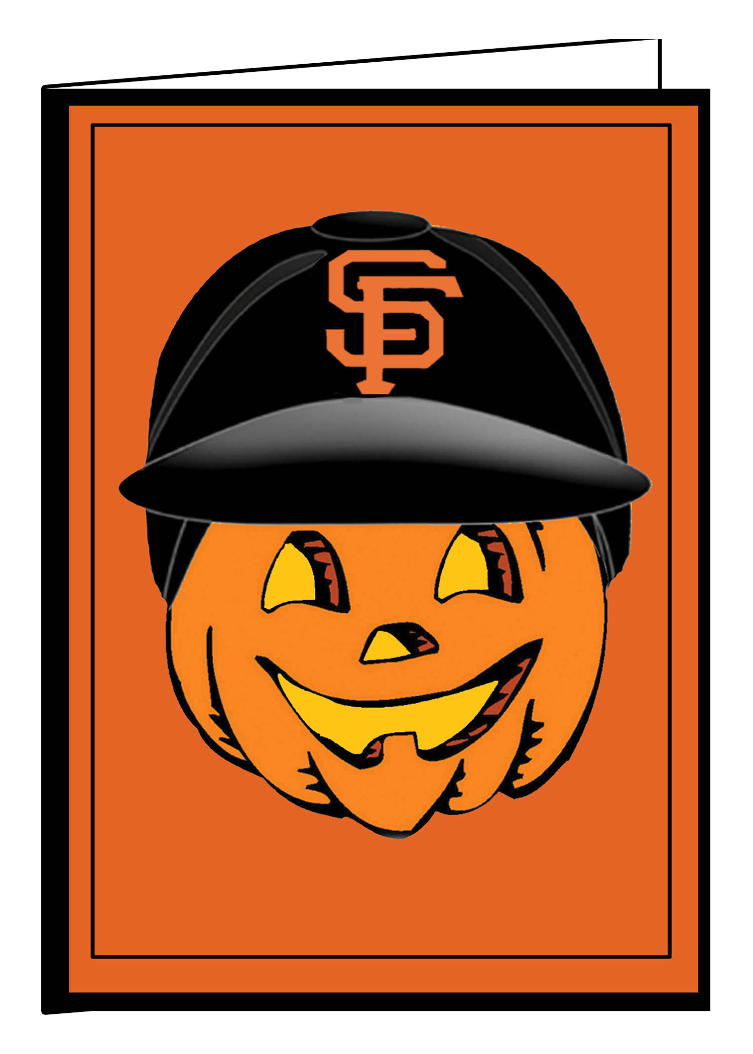 SF Giants Jack o-Lantern